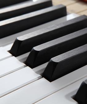 砝码加铅琴键